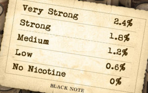 Choosing the right nicotine level for e-liquid