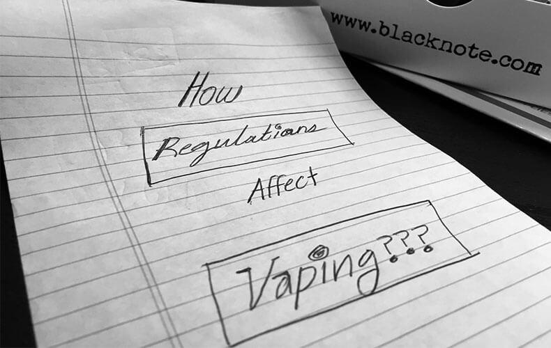 How regulations affect vaping