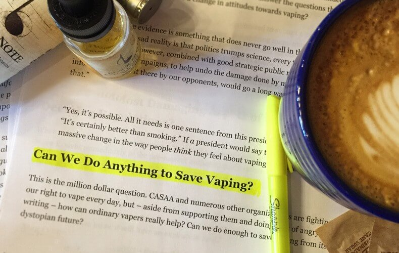 can we do anything to save vaping