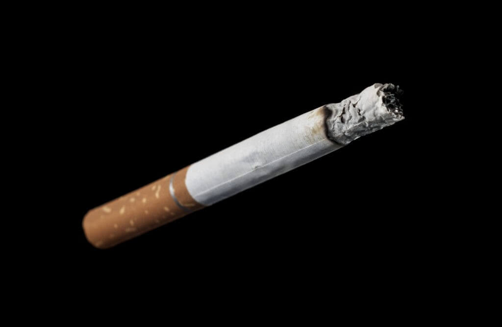 How much nicotine is in cigarettes