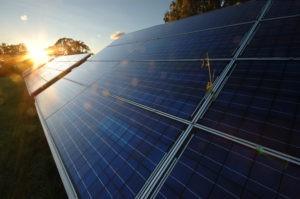 Solar powered e-cigarettes