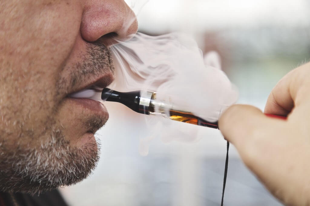 Do You Inhale E-Cig Vapor?