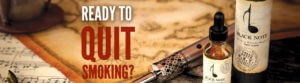 Ready to quit banner