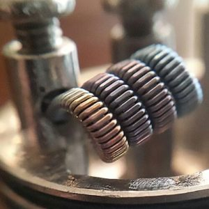 vaping staple coil