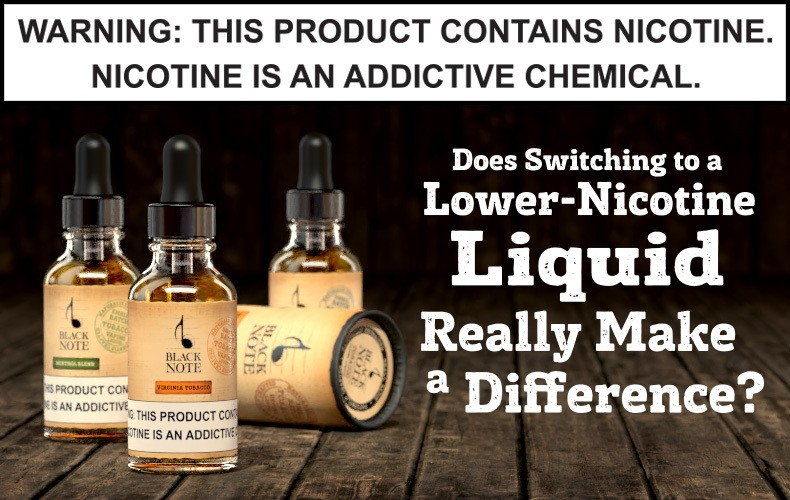 Lowering your nicotine consumption