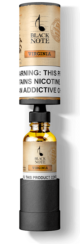 Tobacco E-Liquid | Authentic Tobacco Taste | Black Note