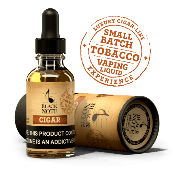 Buy Tobacco E-Liquid & Vape Juice | 100% Naturally Extracted | Black